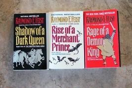 3 Serpentwar Saga Books 1, 2, 3 - RAYMOND E. FEIST-Fantasy Vintage PBs - $19.99