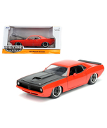 1973 Plymouth Barracuda Orange with Matt Black ... - $39.99
