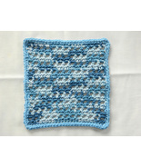 Handmade Crochet Square Dish Cloth - $3.50
