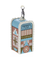 Disney Parks Small World Trash Can Figurine Orn... - $26.90