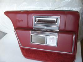 1990 1991 1992 LEFT REAR DOOR PANEL OEM USED BROUGHAM FLEETWOOD RED MAPLE  - $252.45