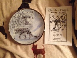 Bradford Exchange Gray Ghost Charles Frace Soul of the Wild Collector Plate New - $24.99