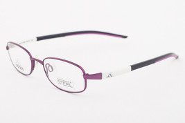 Adidas AD988 40 6064 LiteFit Metallic Pink Black Eyeglasses AD988 406064 45mm - $68.11