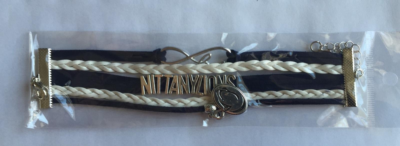 Penn State Nittany Lions Fan Shop Infinity Bracelet Jewelry