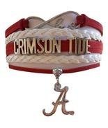 University of Alabama Crimson Tide Roll Tide Fan Shop Infinity Bracelet ... - $12.99