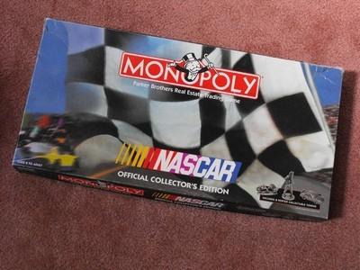 NASCAR MONOPOLY Collectors Edition, 1997 - NICE!