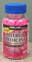 Kirkland Allergy Medicine Antihistamine 25mg, 600 ct - $8.73