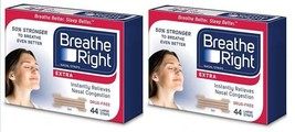 88 BREATHE RIGHT EXTRA NASAL STRIPS TAN STRIPS ... - $35.62