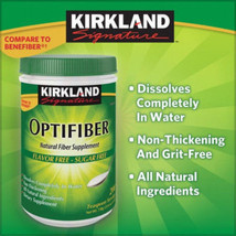 Kirkland OPTIFIBER  25.6 Oz soluble fiber non-thickening sugarfree - $24.53