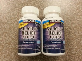 GUAIFENESIN 400 MG MUCUS RELIEF EXPECTORANT 400 TABLETS - $20.04