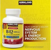 Kirkland Signature  Sublingual B-12 5000 mcg., 300 Tablets QUICK DESOLVE... - $25.73