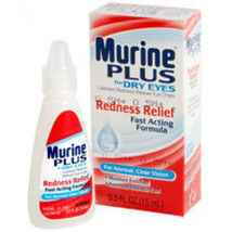 Murine Plus Dry Eyes Lubricant Natural Tears Formula Eye Drops NEW 0.5 oz - $103.40