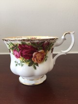 Royal Albert Old Country Rose Fine Bone China Footed Demitasse Cup Teacu... - $18.23