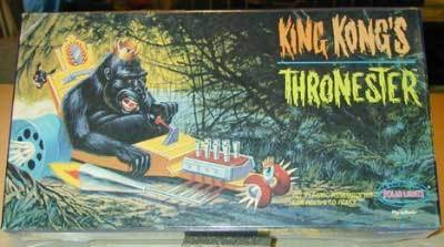 Polar Lights King Kong's Thronester HOT ROD cool-MISB!