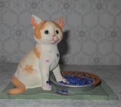 Lenox Blueberry Pie Caper Kitty Cat Figurine - $16.99