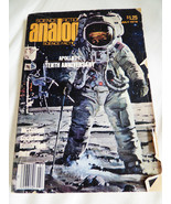 VTG July 1979 Analog Science Fiction Magazine Apollo 11 10th Anniversary - $13.86