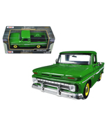 1966 Chevrolet C10 Fleetside Pickup Truck Green... - $49.99