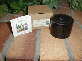 Longaberger Pint Size Pillar Candle Flower Garden Scent NEW in Box - $11.83