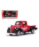 "1941 Plymouth Pickup Truck Red ""Coca Cola"" 1/24... - $62.99"