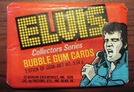 ELVIS PRESLEY 1978 Donruss Collector Series Cards Pack UNOPENED FREE SHI... - $7.95