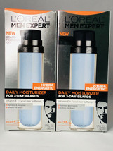 LOT OF 2, L'OREAL, MEN EXPERT HYDRAENERGETIC MOISTURIZER, NEW - $10.00