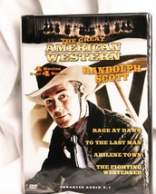 An item in the DVDs & Movies category: The Great American Western Volume # 1 DVD Randolph Scott