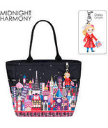 Lesportsac It's a Small World Midnight Harmony Picture Tote - $289.99