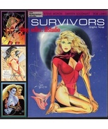 SIGNED Steve Woron, Karl Kesel SURVIVORS 1988 graphic Novel Spectrum cha... - $21.73