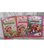 Strawberry Shortcake 3 DVD Meet Strawberry Berry Merry Christmas, Spring... - $23.63