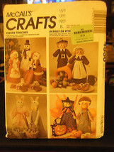 McCall's Crafts 4530 Holidays Table Accessories & Dolls Pattern - £4.78 GBP