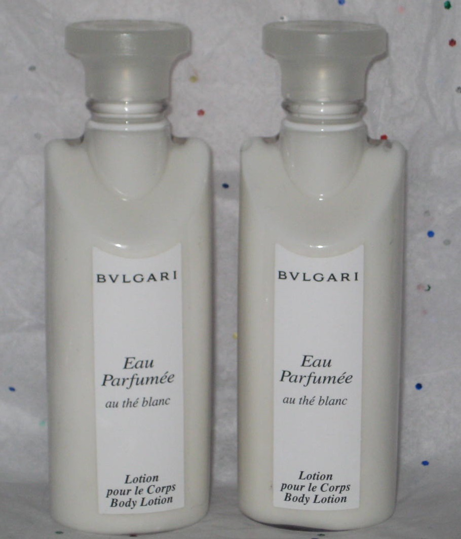Primary image for Bulgari Au The Blanc White Tea Body Lotion - 4 oz Total