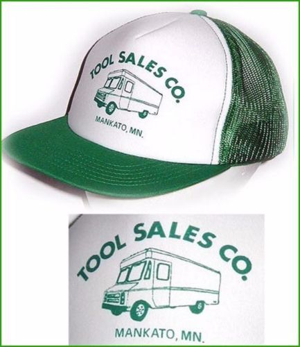 TRUCKER HAT TOOL SALES Mankato MN RV Vintage MESH SNAPBACK  Jansport Taiwan