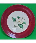 Vintage (1953-1968) Homer Laughlin, Lifetime China Co. Burgundy Dinner P... - $2.95
