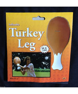 Funny--JUMBO INFLATABLE TURKEY LEG--Thanksgivin... - $6.90