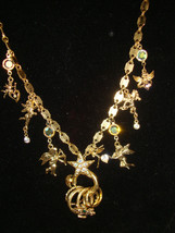 "KIRK'S FOLLY 'Secrets of the Seven Angels"" Charms with Rings long NECKLA... - $90.00"