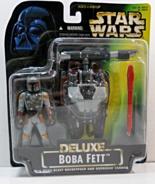 Star Wars POTF Boba Fett Delux Figure w/ Wing-B... - $15.95