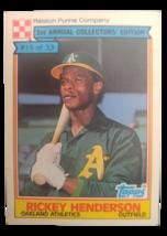 1984 Topps Rickey Henderson Ralston Purina - $110.00