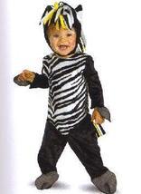 Zany Zebra Toddler Costume Size 0-6 Months - $12.00