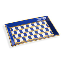 Jonathan Adler Versailles Rectangle Tray - Blue - $57.97