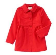 NEW Gymboree 5 6 Woodland Wonder Poppy Red Orange Peacoat Jacket NWT - $18.68