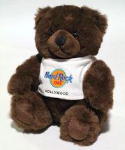 "NWT VTG 9"" RARE 1995 Hard Rock Cafe Hollywood Teddy Bear Plush Toy-HARD ... - $44.99"