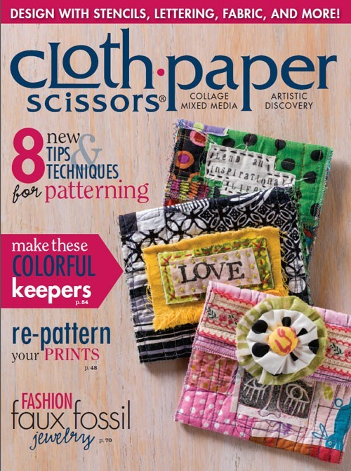 Cloth Paper Scissors Magazine January/February 2015 Single