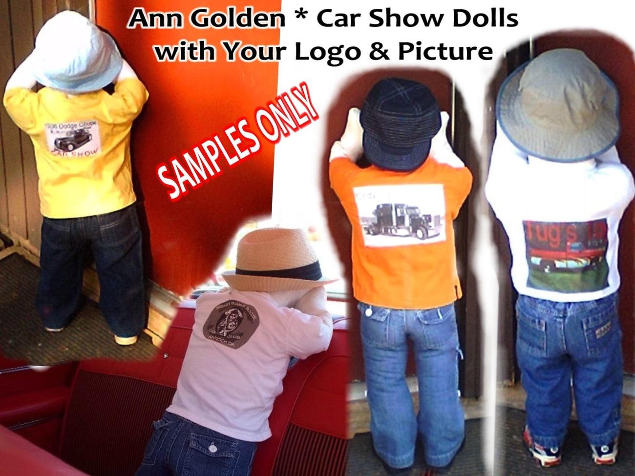 Primary image for Time Out Doll for Your Car, Truck and Cycle Show