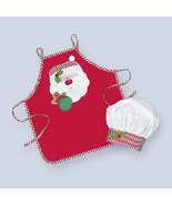 Toddlers Santa Claus Apron and Chef Hat for Toddler - $24.00