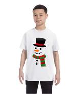 Kids T Shirt Snowman Ugly Christmas Xmas Gift Cool Holiday Top - $10.94