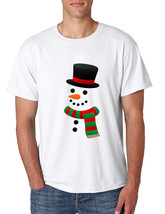 Men's T Shirt Snowman Ugly Christmas Xmas Gift Cool Holiday Top - $10.94+