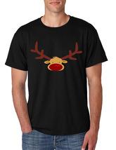 Men's T Shirt Reindeer Face Christmas Shirt Cool Funny Xmas Gift image 5