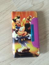 Disney Mickey Mouse PU Leather Case Wallet For Samsung Galaxy S4 Ship From NY - $9.99