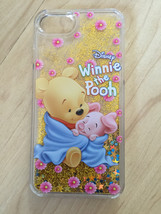 Winnie The Pooh And Piglet in Blankie Liquid Glitter Quicksand Case For iPhone 7 - $13.99
