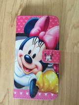 Disney Minnie Mouse PU Leather Case For Samsung Galaxy S6 Edge Ship From NY - $11.99